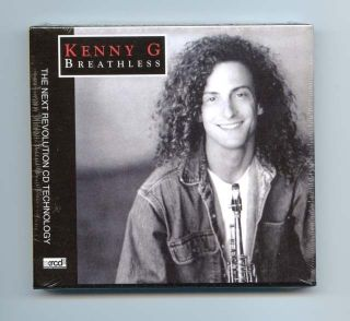 Kenny G Breathless Japan JVC XRCD XRCD2 Audiophile CD Brand New Sealed