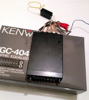 Kenwood KGC 4042A 5 Band Compact Graphic Equalizer EQ