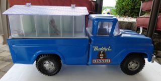Vintage Buddy L Kennels Truck Nice