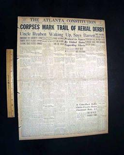 Black Sox Scandal World Series Cincinnati Reds 1919 Newspaper