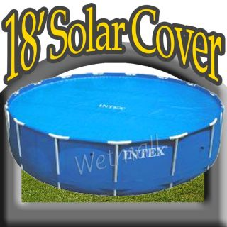New Intex Swimming Pool Solar Cover for 18 Round Pools