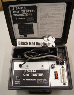 Kent Moore J 34914 CRT Tester Chevy Service Tool Kit