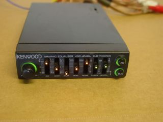 Kenwood KGC 4042A Graphic Equalizer Old School