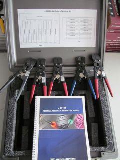 Kent Moore J 38125 800 Crimper 5 Pair W Manual Case Terminal Repair