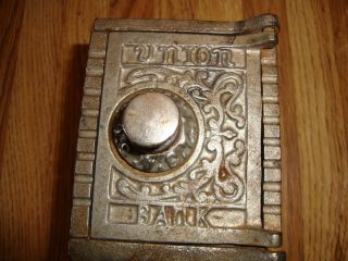 Old Cast Iron Kenton Union Bank Kenton Brand 1900S