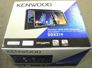 New Kenwood DDX319 in Dash Double DIN 6 1 Touchscreen CD DVD USB Car