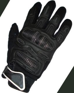 Motorcycle Motocross Glvoes Carbon Kevlar Protection Mountain Bike