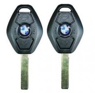 2X Original BMW Series 315 325 525 Replacement Key Case