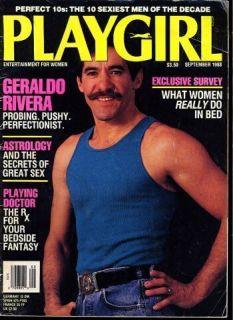 PLAYGIRL Sept 1988 KEVIN SORBO Hercules BRUCE SPRINGSTEEN Mikhail