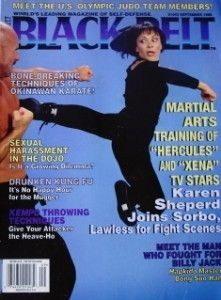 96 BLACK BELT MAGAZINE KEVIN SORBO LUCY LAWLESS KARATE KUNG FU
