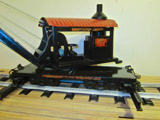 Original Buddy L Oudoor R.R. Locomoive Wrecking rain Crane 1020