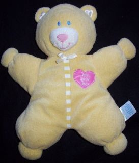 Kids Preferred Yellow Very Special Baby Bear Plush Toy
