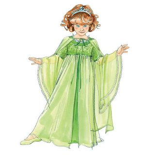 Cape Dress Kids Princess Queen Halloween Costume McCalls Pattern 5906