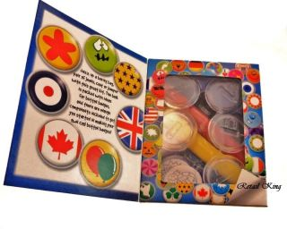 Button Badges Kids Craft Kit Book Gift Christmas Toy