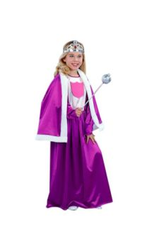 Childs Royal Queen Outfit Girls Halloween Costume