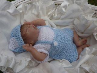Micro Preemie Reborn Baby Boy Doll Kieran