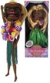 Kiki the fashion Tiki doll MIB NEW big head perfect for Blythe doll