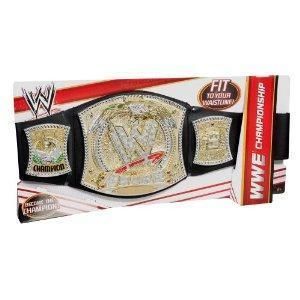 Mattel WWE Championship Kids Toy Belt Brand New