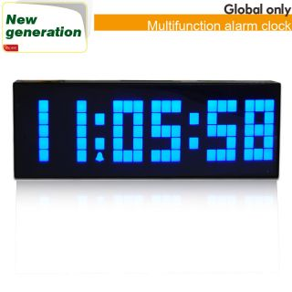 digital alarm clock day of week clock fashion auto flip calendar clock