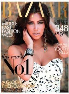 Kim Kardashian Bandage Bodycon Party Dress Note Print Color White XS s