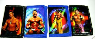 New Boy Kids WWE Trifold Wallet Birthday Party Favor Gift Fast Free