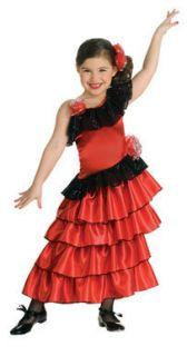 Little Spanish Princess Kids Halloween Costume