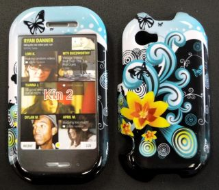 Sharp Kin Two Cell Phone Faceplates Cover Yelowflower