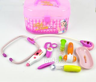 Medical Kit Doctor Role Play Set&Carry Case Children Kids Toy