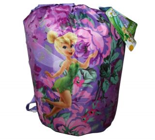 FAIRIES TINKERBELL TINK Kids SLEEPING SLUMBER BAG W BONUS BACKPACK NEW