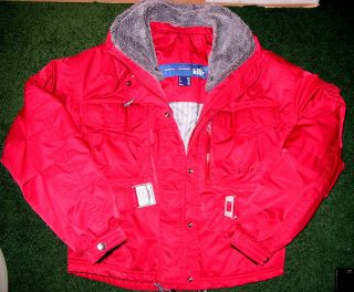 Killy Technical Equipment Bright Red Ski Snowboard Jacket Womens Size