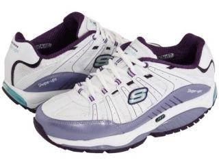 Skechers Shape UPS Womens SRT Kinetix Response White Sneakers Shoes