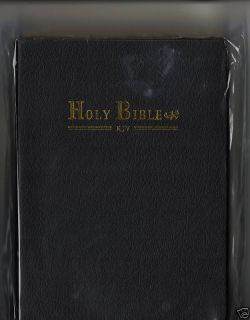 The Holy Bible King James Version Compact Version Black