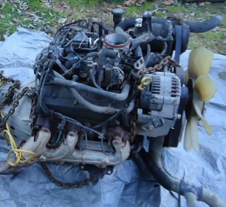 Complete 4.3 ltr Vortec Engine Approx. 70,000miles Silverado Tahoe And