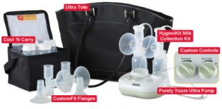 Ameda Purely Yours Ultra Breast Pumps in Style New Breastfeeding