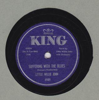 Little Willie John on King 78 4989