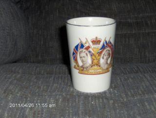 King George VI Coronation Beaker 1937