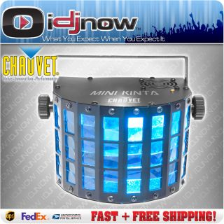 Chauvet Mini Kinta 3W LED RGB DMX Ambient DJ Lighting Effect