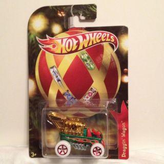 2011 Holiday Hot Wheels Draggin Wagon Radio Flyer Wagon Hot Rod Wagon