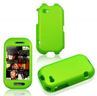 Sharp Kin Two 2 Green Faceplate Cover Hard Case Skin