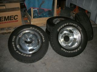 Ford King Ranch F 350 450 Dually Wheels and Tires