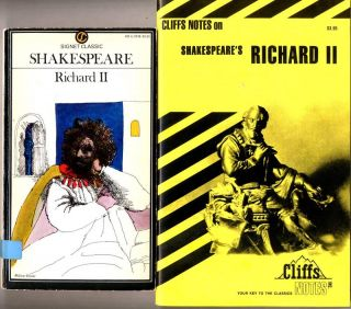 King Richard II by William Shakespeare Cliff Notes Study Guide Free