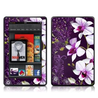Kindle Fire DecalGirl Glossy Skin Kit Violet Worlds