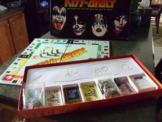 Kiss Opoly Board Game