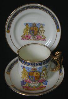 China Trio  Planned Coronation King Edward VIII 1937  Paragon