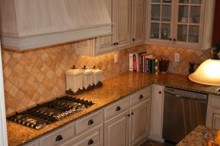 LOOKS REAL Venecian GOLD Granite Counter Top Cover Film 36 x6ft Roll