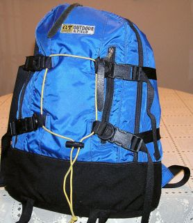 Vtg G T Hawkings Outdoor Products UK Day Pack Backpack