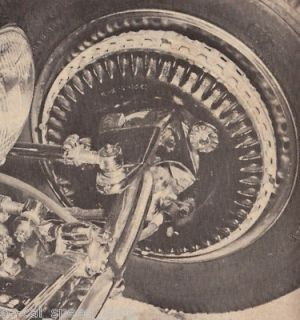 ROD TECH MAGAZINE BRAKE SYSTEMS HOW TO HYDRAULIC KINMONT DISC RAT FORD