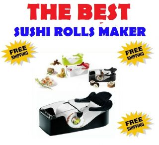 Best Kitchen Dining Tools Gadgets Gift Sushi Maker Roller Rolling