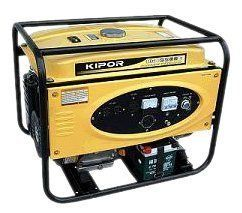Kipor Generator KGE5500E 5500 Watt Electric Start Generator 65798
