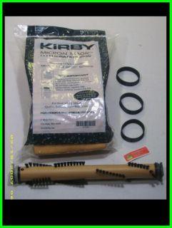 Kirby Vacuum Bags Brushroll Belts Fits Sentra G7 G2000